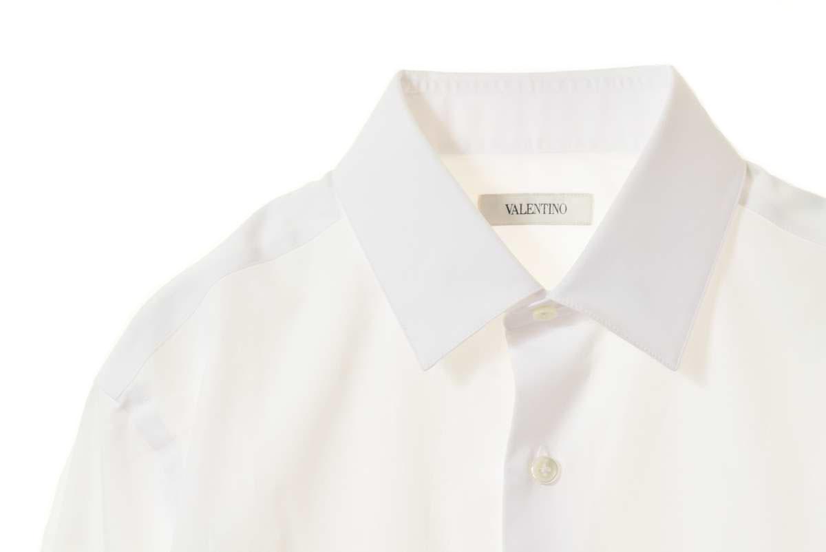 VALENTINO コットン ドレスシャツ