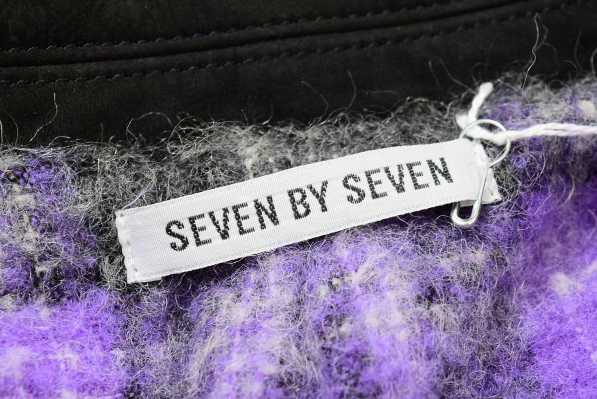 SEVEN BY SEVEN カウハイド ウエスタン レザージャケット