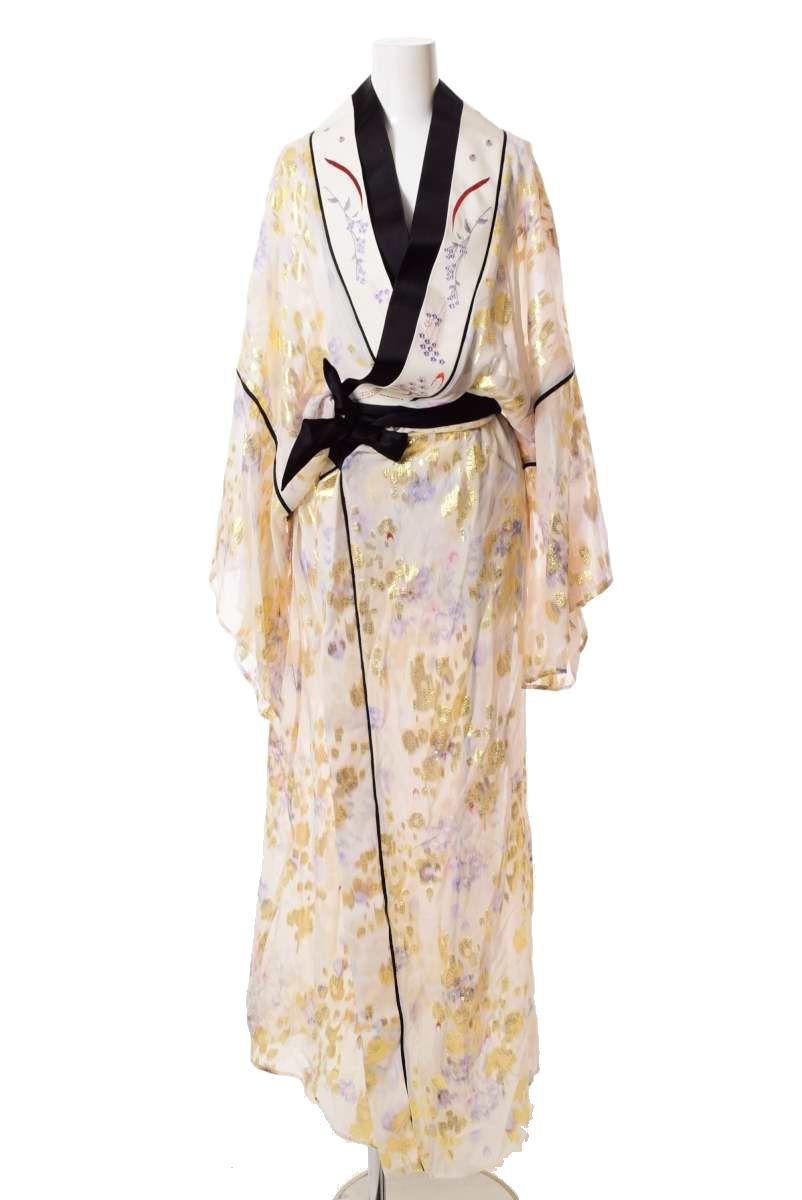 Mame Kurogouchi 金糸 エンブロイダリー Kimono コート