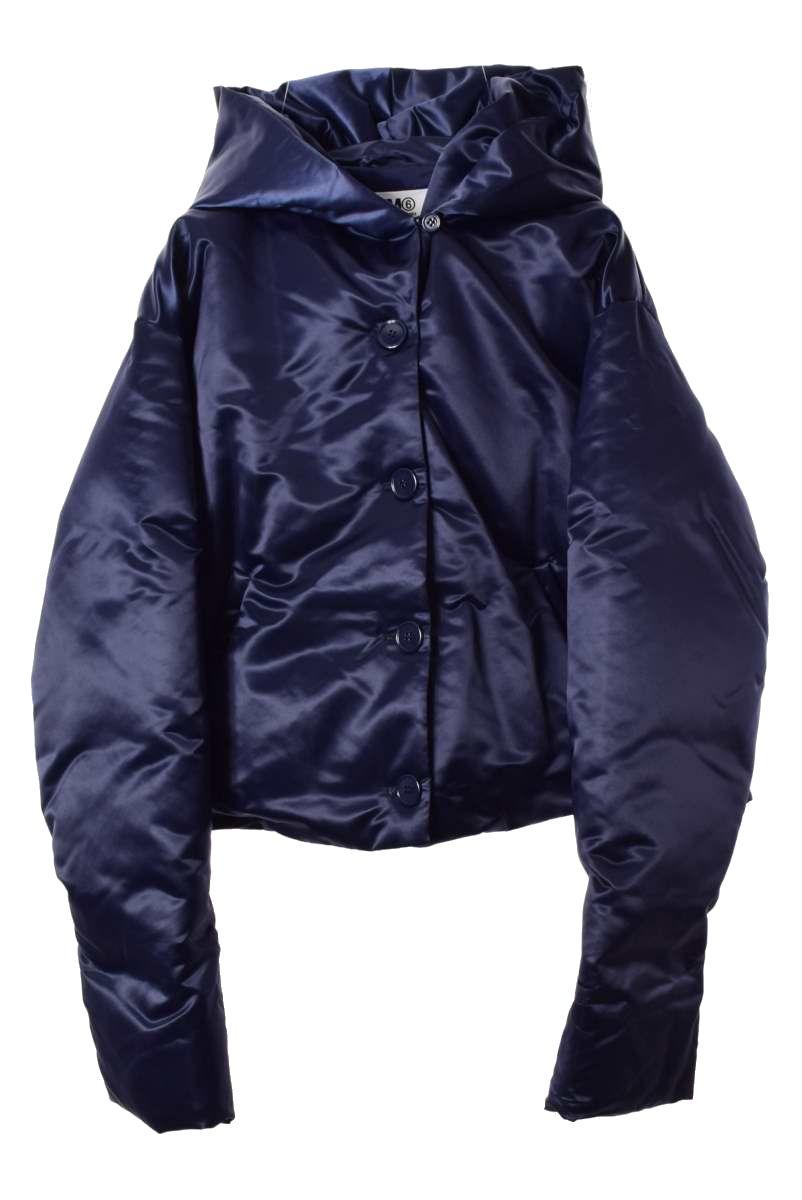 MM6 ナイロン ショート丈 ダウン ジャケット