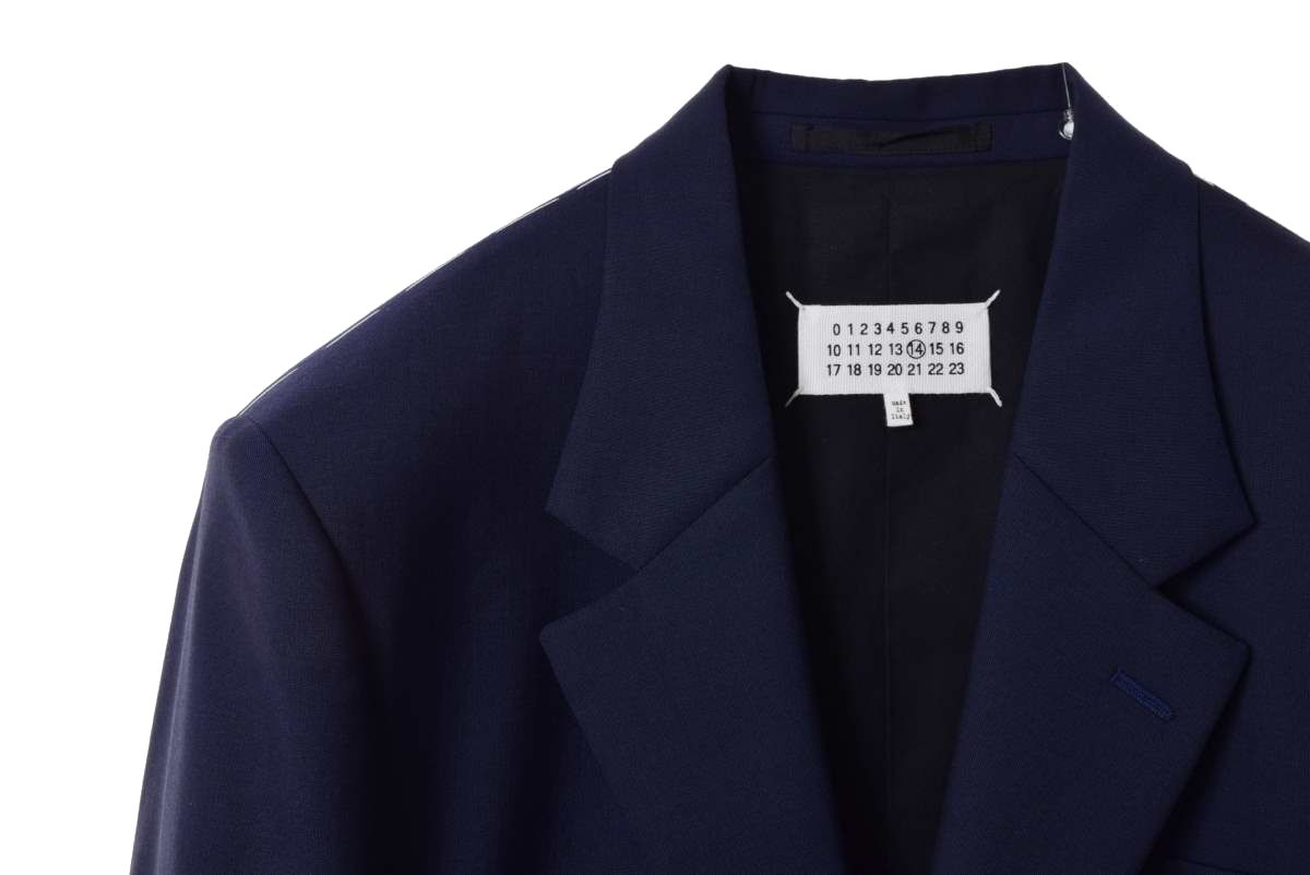 Maison Margiela 2B ウール セットアップ スーツ