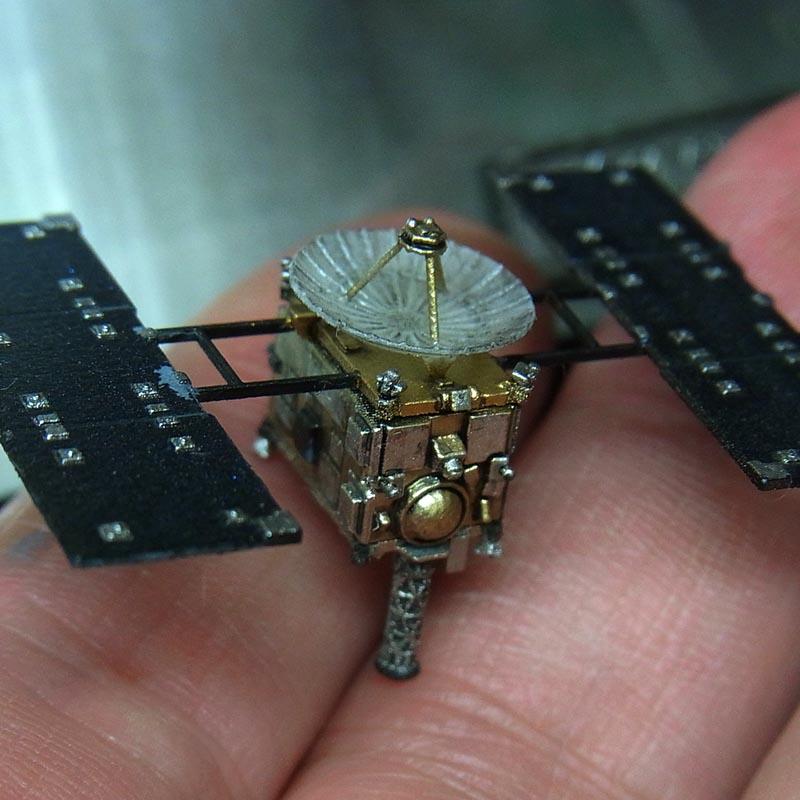 1/144 小惑星探査機 はやぶさ [MUSES-C] UVレジンVer.