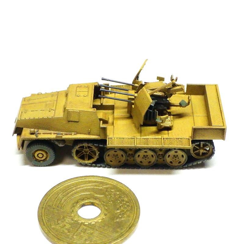 1/144 sWSハーフトラック Flak38搭載型