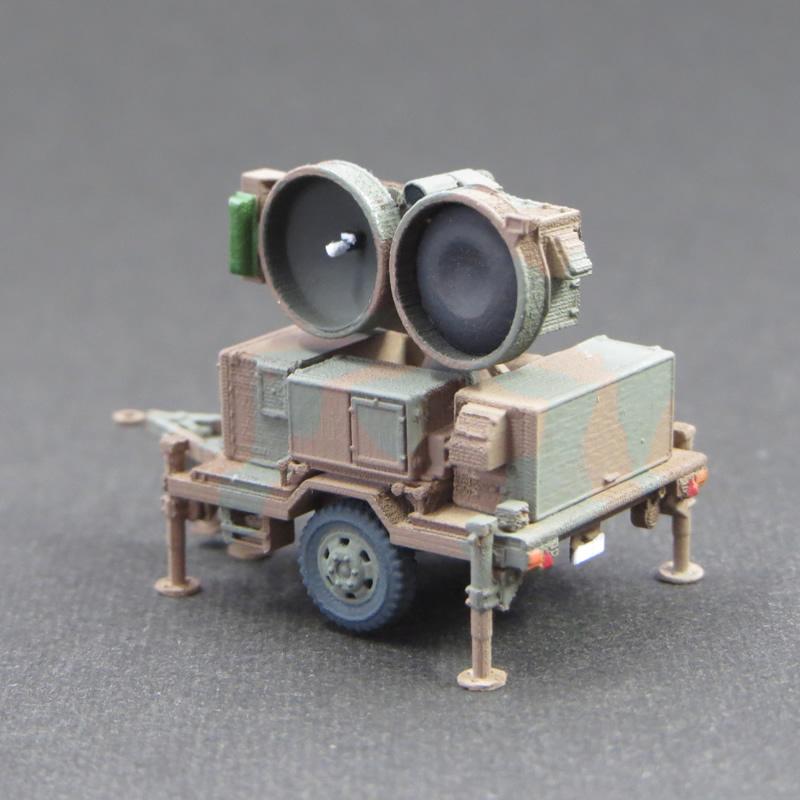 1/144 陸上自衛隊 HAWKミサイル用ハイパワーイルミネーター&ローダー
