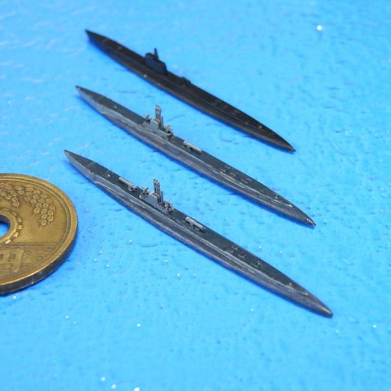 1/2000 ガトー級潜水艦(3隻セット)