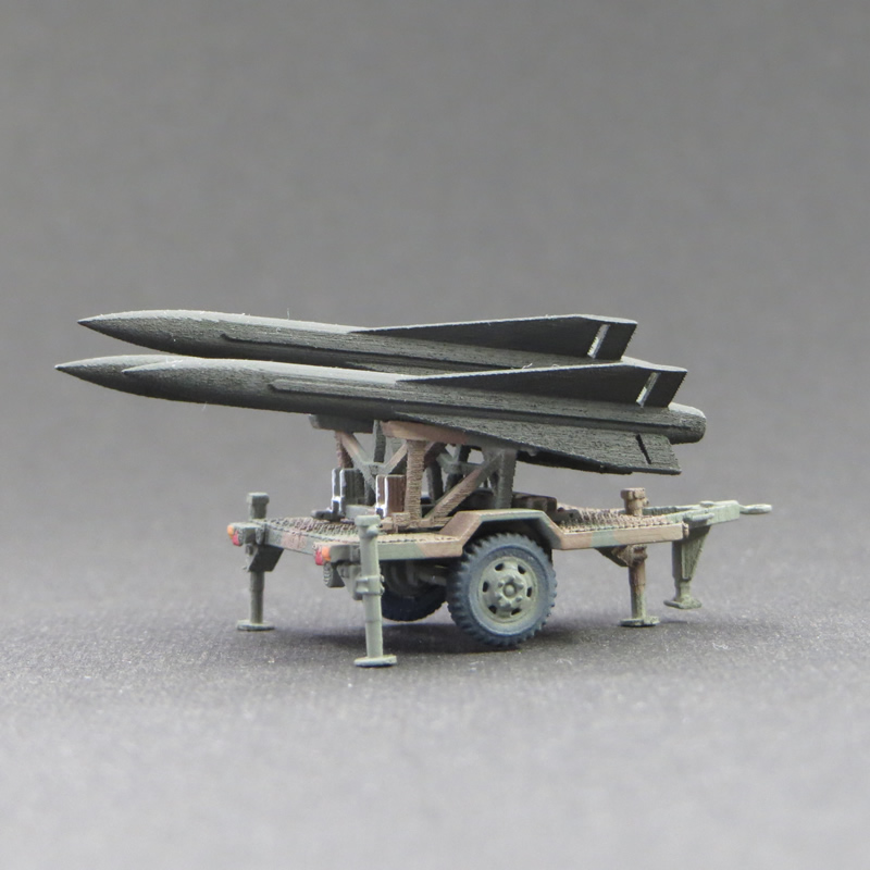1/144 陸上自衛隊 HAWKミサイル輸送用トレーラー