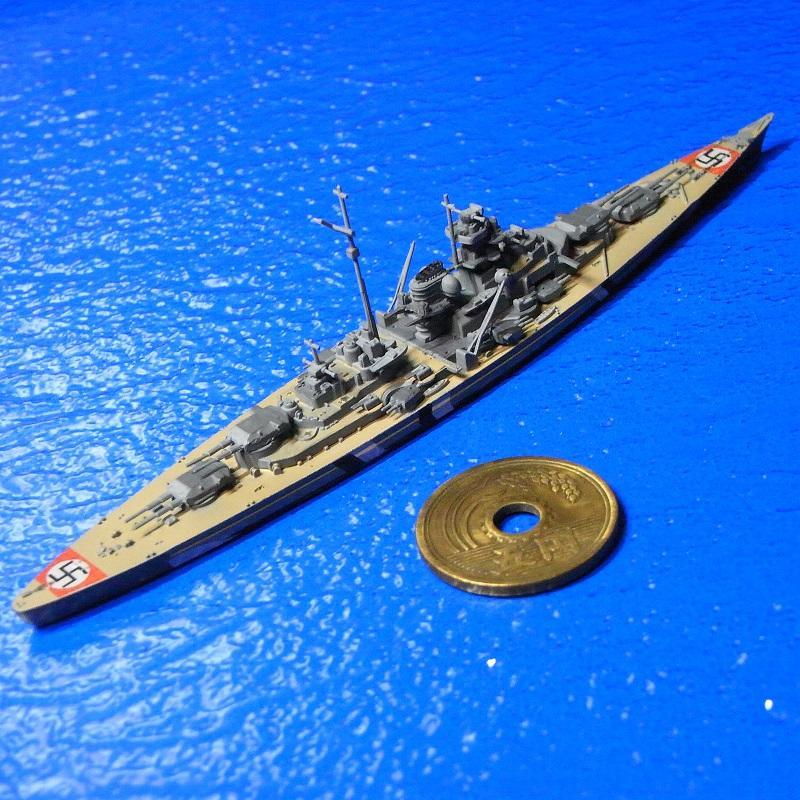 1/2000 戦艦ビスマルク 迷彩・対空標識デカール