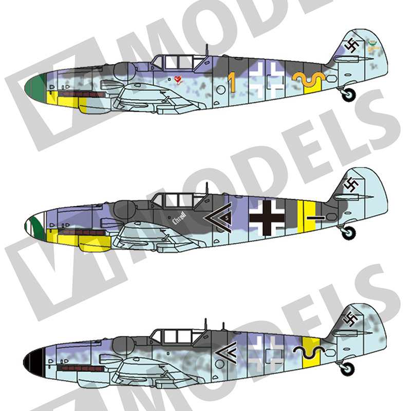 1/144 Bf109G-6改造キット
