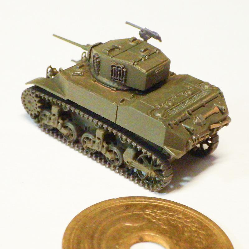 1/144 M5軽戦車スチュアート