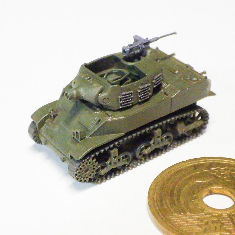 1/144 M8 75mm自走榴弾砲