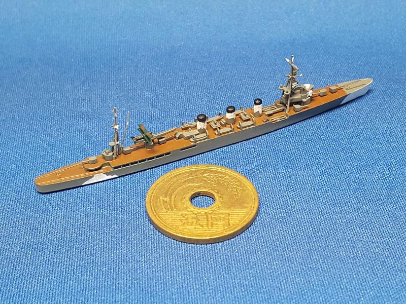 1/2000 軽巡洋艦 多摩(UVレジン版)