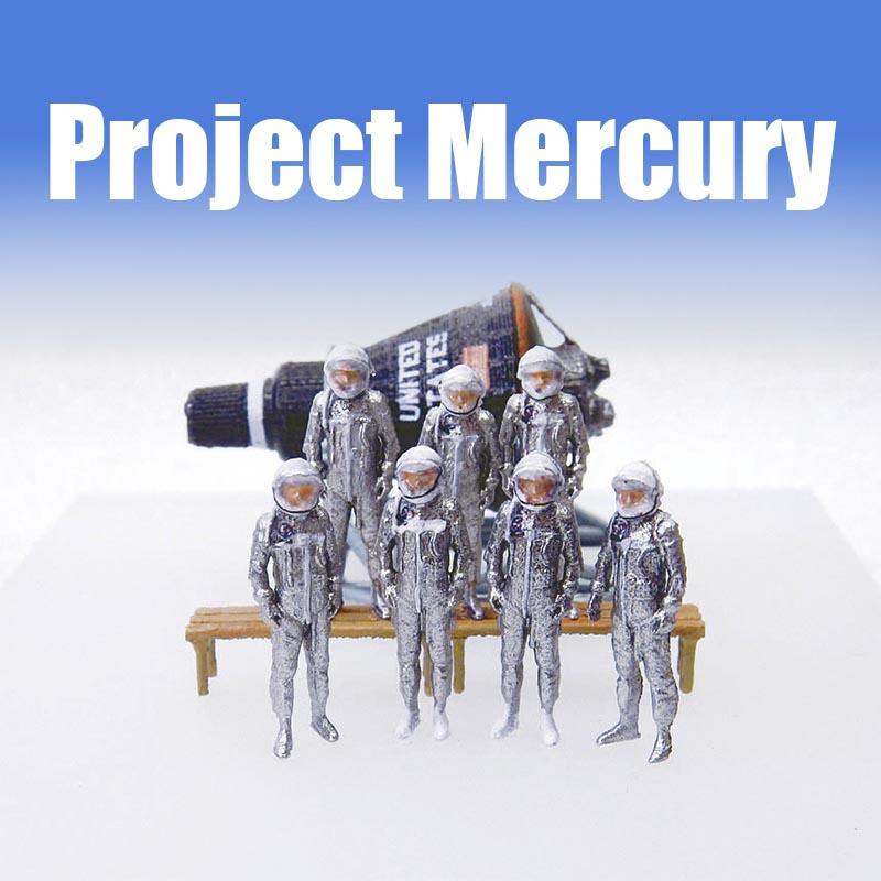 1/144 NASA プロジェクト マーキュリーSet