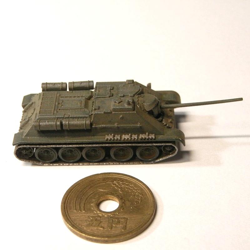 1/144 SU-85自走砲