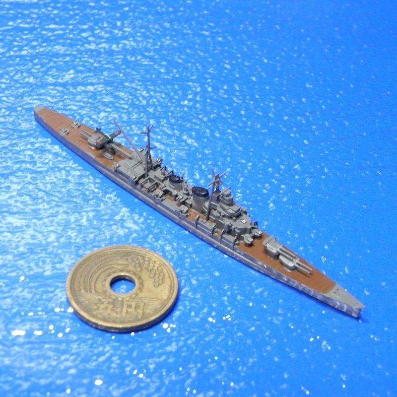 1/2000 重巡洋艦青葉(1944年時・UVレジン版)