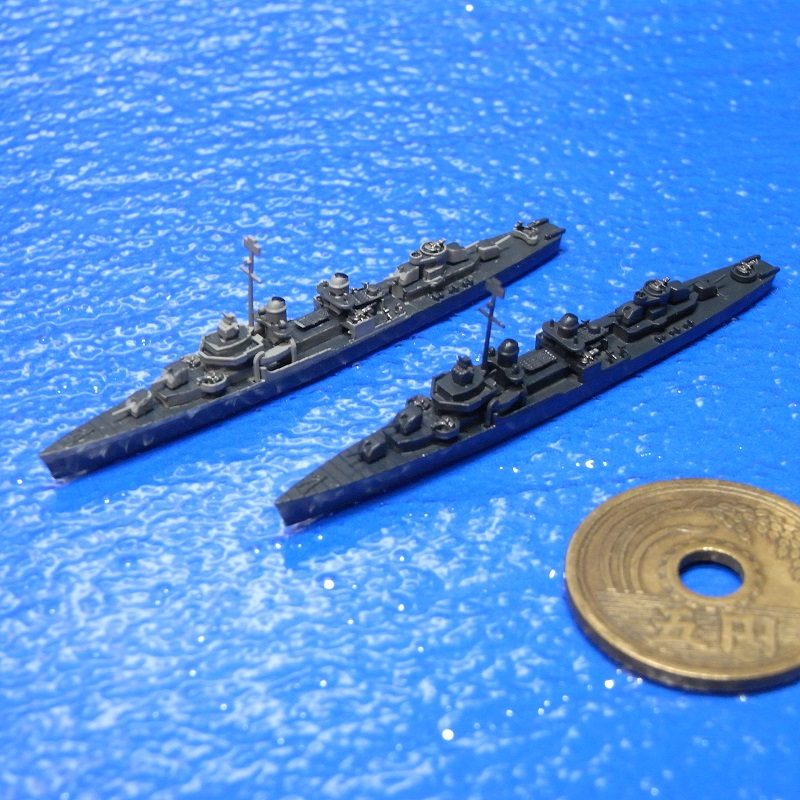 1/2000 フレッチャー級駆逐艦後期型(UVレジン版・2隻セット)