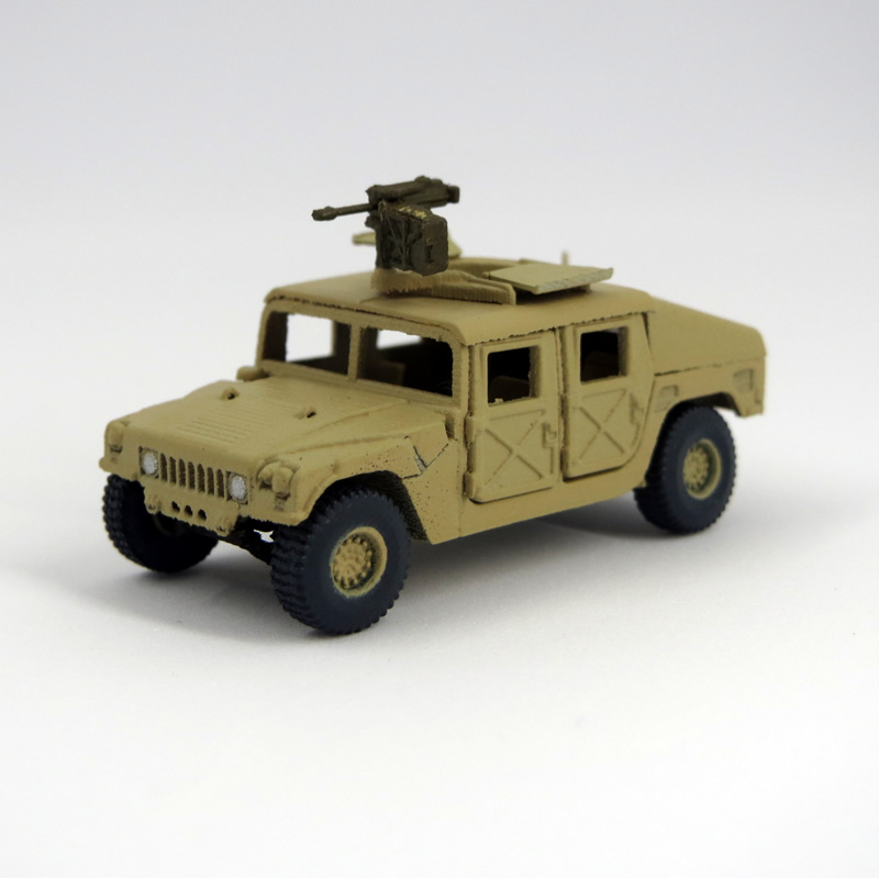 1/144 M1025 HMMWV グレネードランチャー装備車