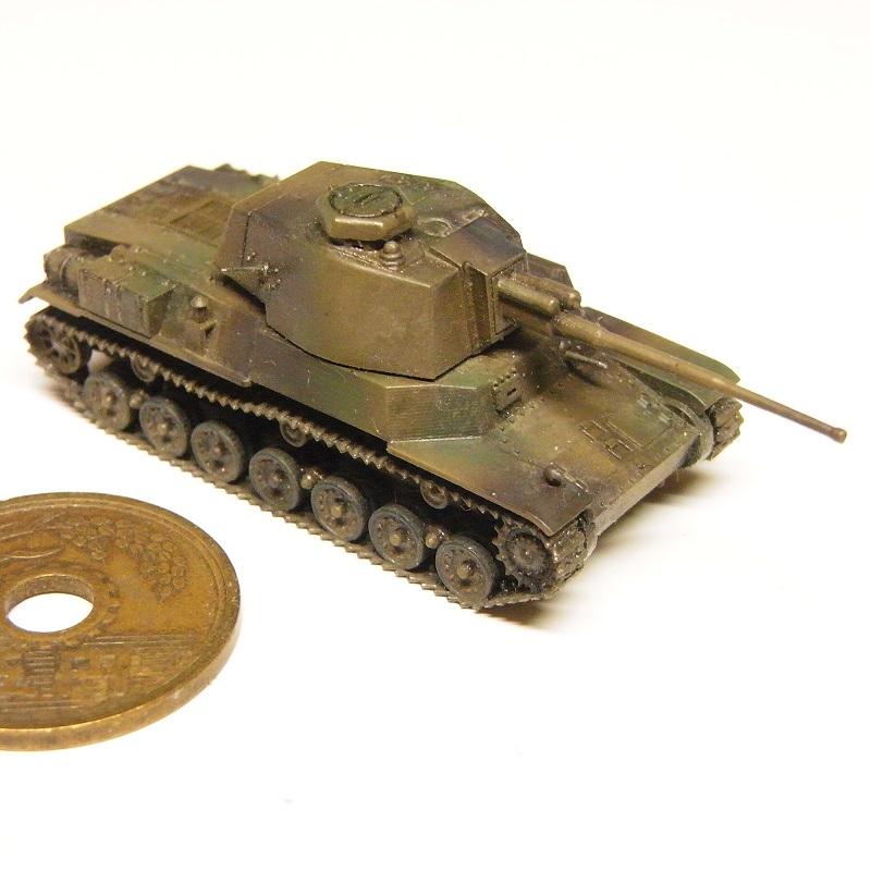 1/144 四式中戦車 試作型