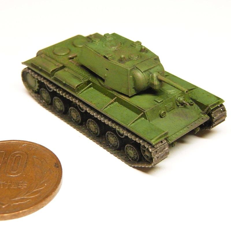 1/144 KV-1重戦車(1940年型)