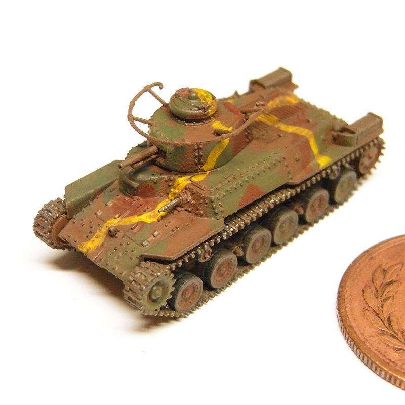 1/144 九七式中戦車後期型(リメイク版)