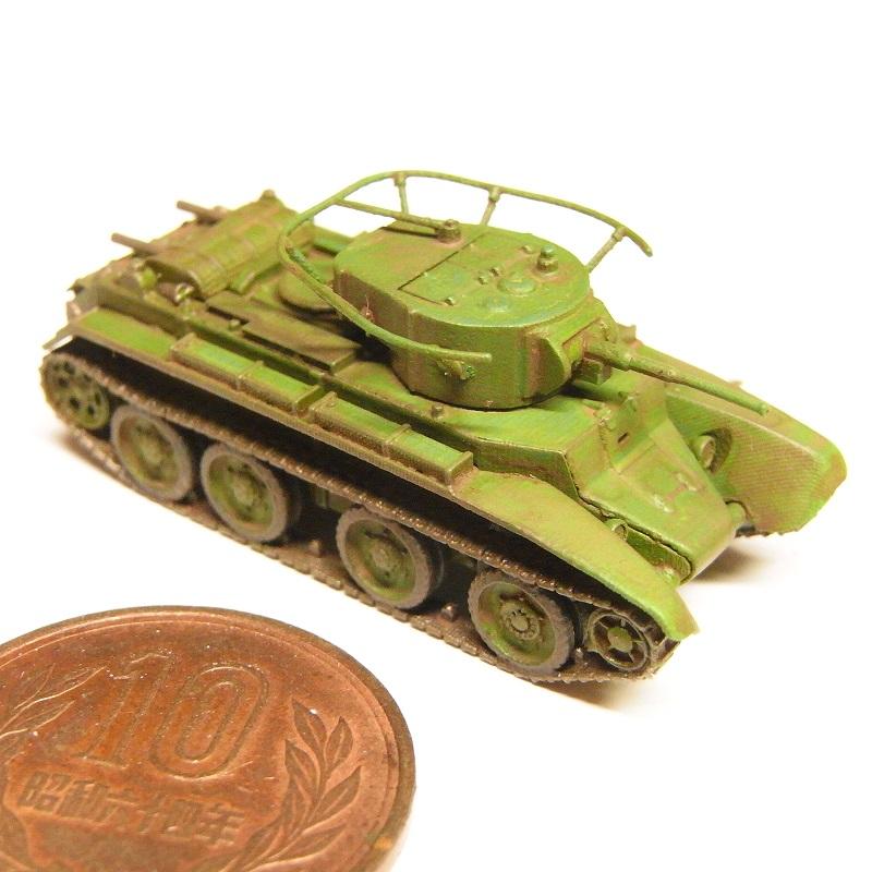 1/144 BT-7快速戦車(1935年型)