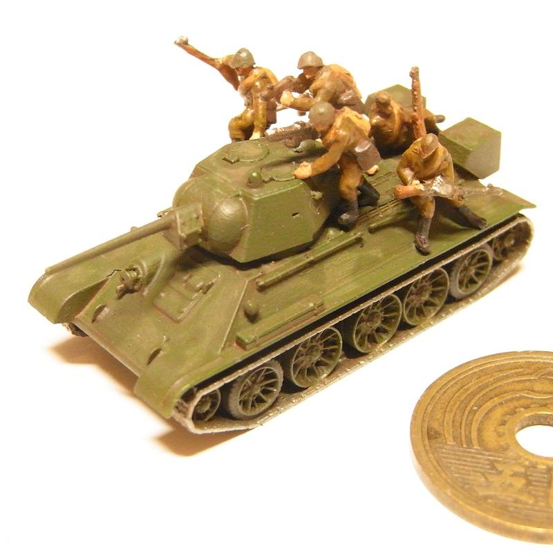 1/144 ソ連軍タンクデサントセット