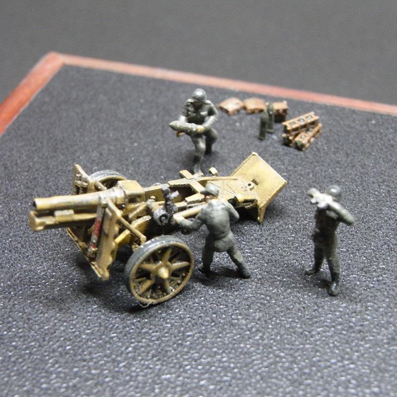 1/144 sIG33 15cm重歩兵砲 砲兵セット