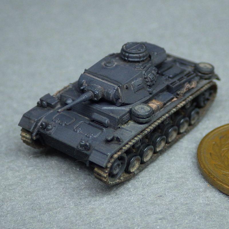 1/144 III号戦車J型42口径