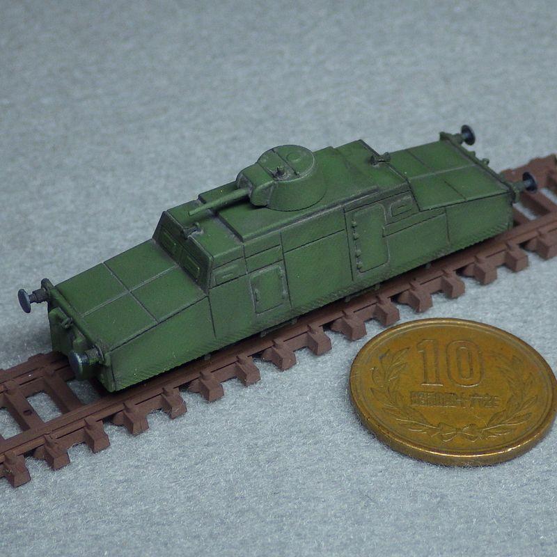 1/144 ツェッペリン装甲軌道車