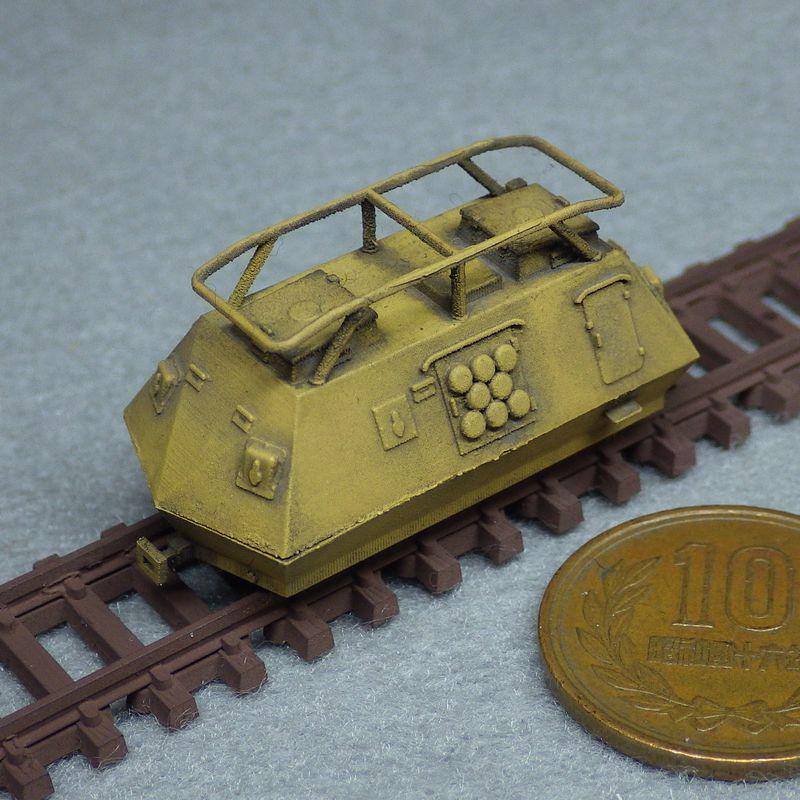 1/144 スタイヤ—K2670軽装甲軌道車(丸型ベンチレーター)