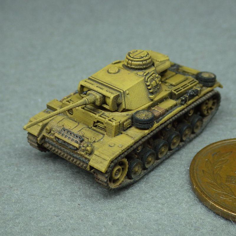 1/144 III号戦車用防盾(L型・M型用)