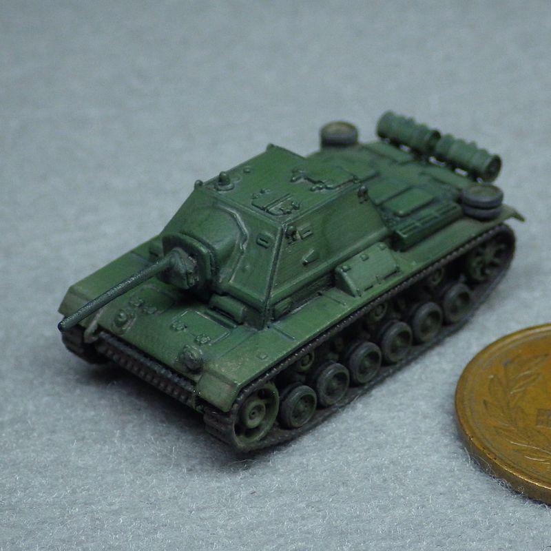 1/144 SU-76i自走砲