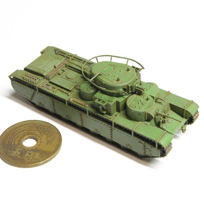1/144 T-35A重戦車