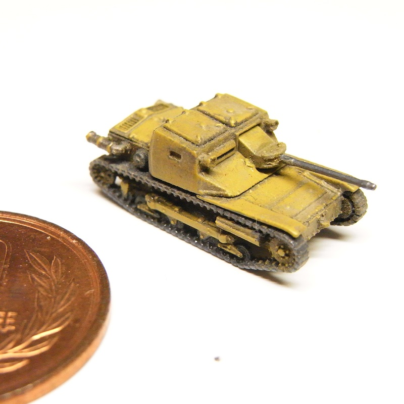 1/144 カルヴェローチェCV33/L3(ゾロターン20mm対戦車銃装備型)