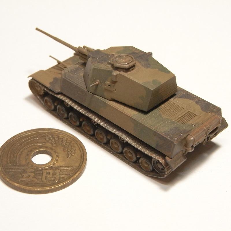 1/144 五式中戦車 チリ