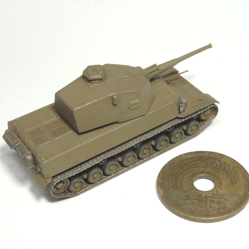 1/144 五式中戦車 88mm砲搭載型