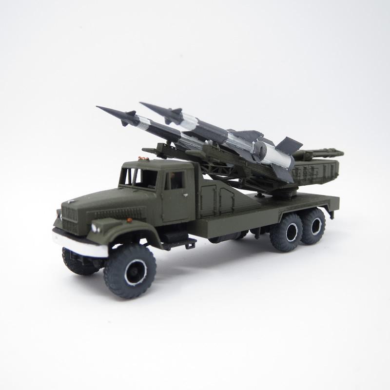 1/144 地対空ミサイル S-125 KrAZ255車台