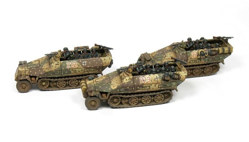1/144 ハノマーク Sd.Kfz.251/D(6両セット)