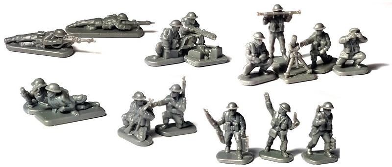 1/144 イギリス軍歩兵(1943-1945・184体セット)