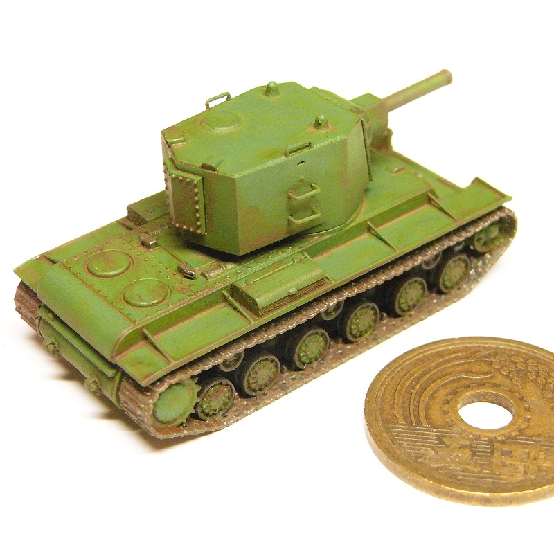1/144 KV-2重戦車(1939年型)