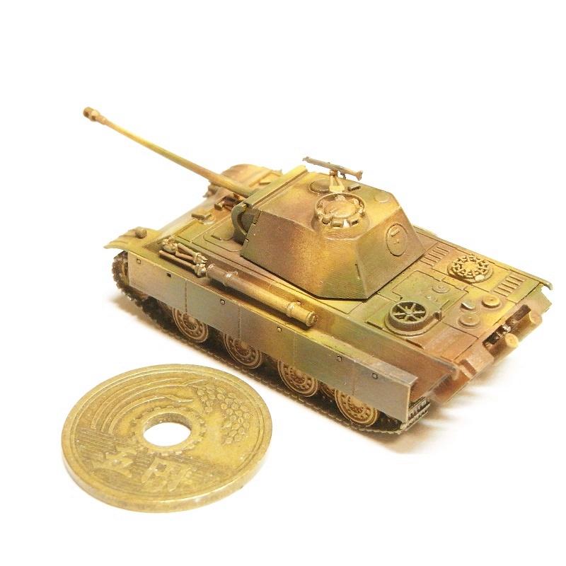 1/144 V号戦車パンターG型(鋼製転輪)