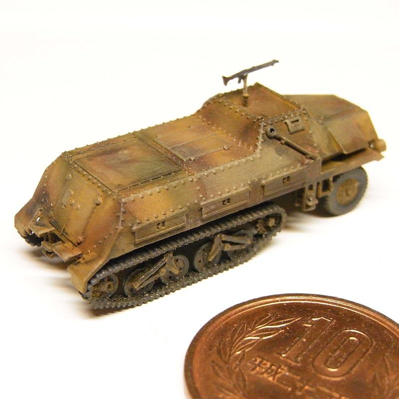 1/144 sd.kfz4/1 弾薬運搬車