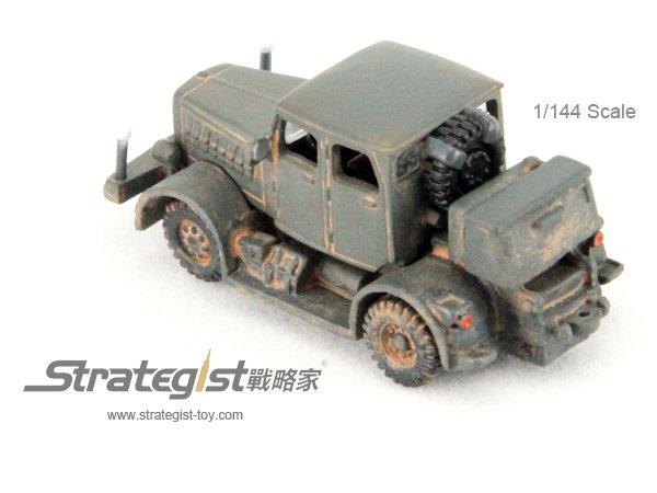 1/144 ハノマーグ SS100重トラクター(グレー)