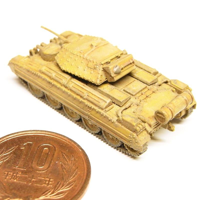 1/144 クルセイダー巡航戦車 Mk.I/II