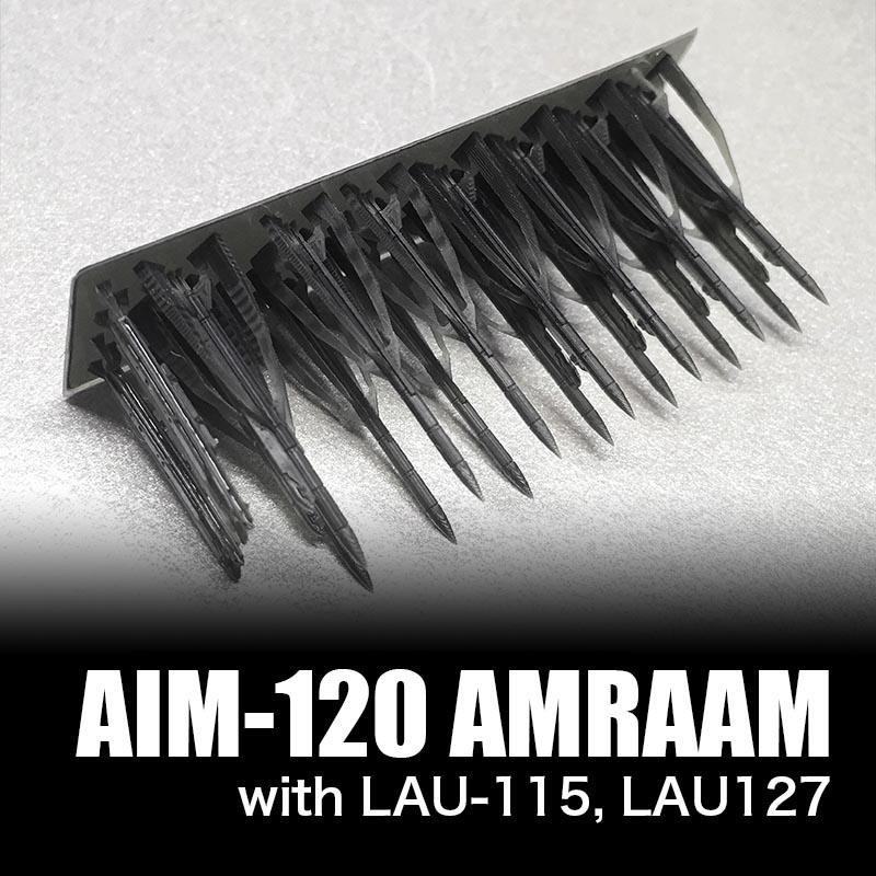 1/144 AIM-120 AMRAAM ランチャーセット