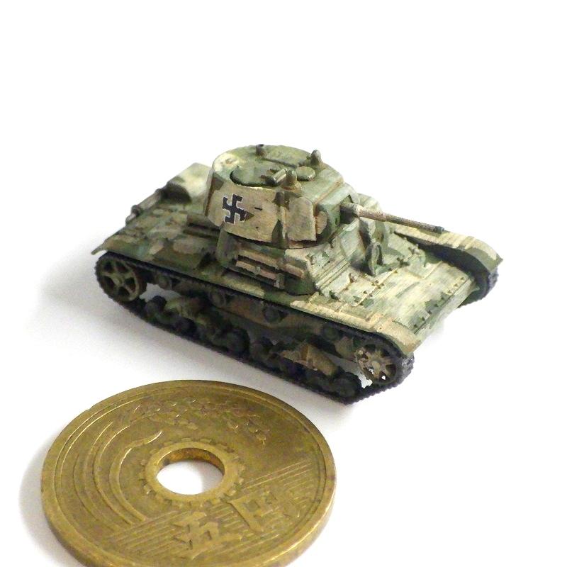 1/144 T-26軽戦車フィンランド軍鹵獲仕様