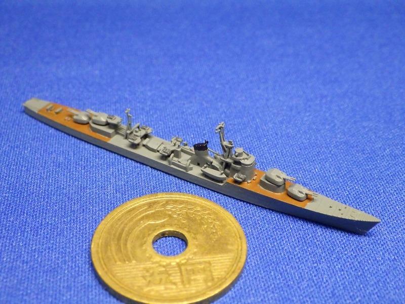 1/2000 冬月型駆逐艦(UVレジン版)