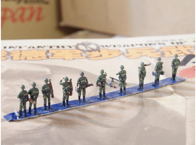 1/144 ドイツ軍歩兵セット Vol.1