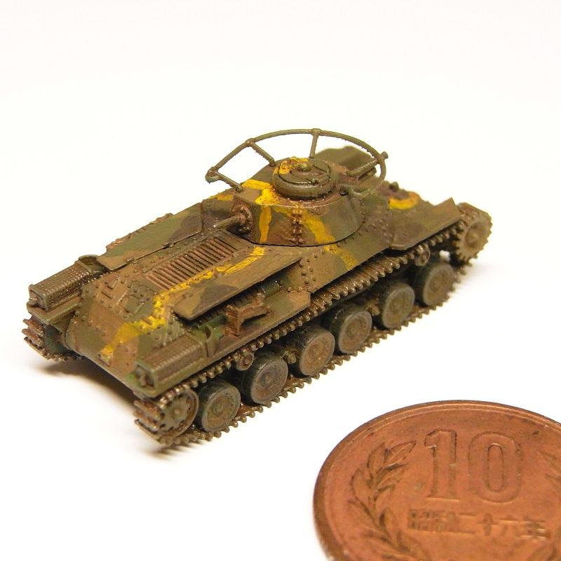 1/144 九七式中戦車前期型(リメイク版)