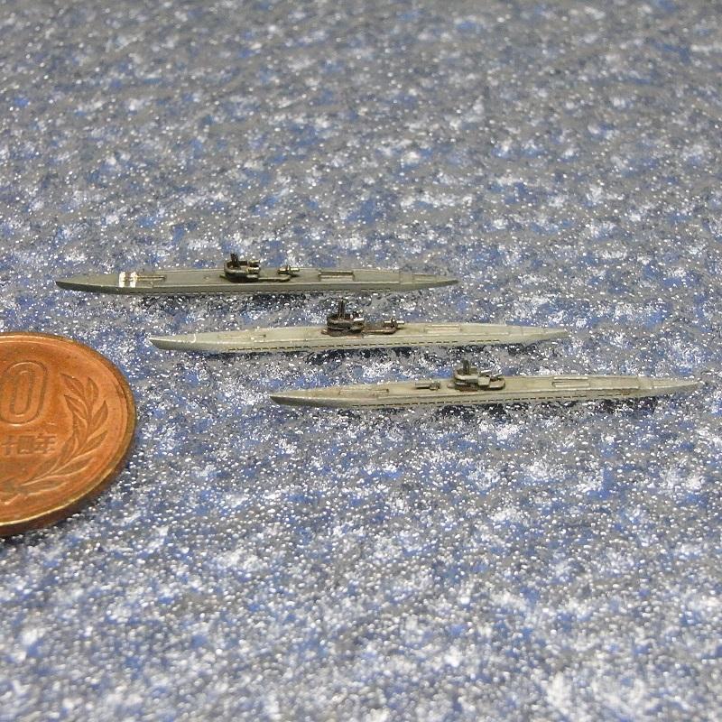 1/2000 IXC型Uボート(3隻セット)