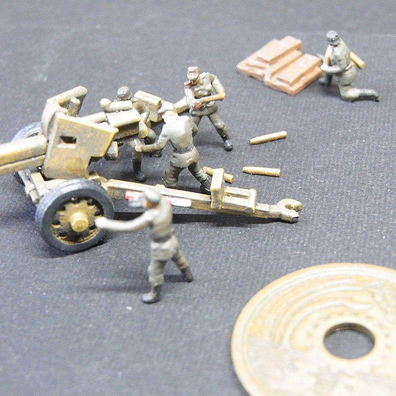1/144 Pak43砲兵セット